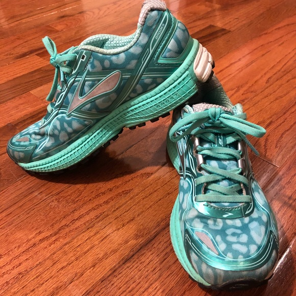 403c126899c Brooks Shoes - Brooks Ghost 8 running shoes (mint leopard print)